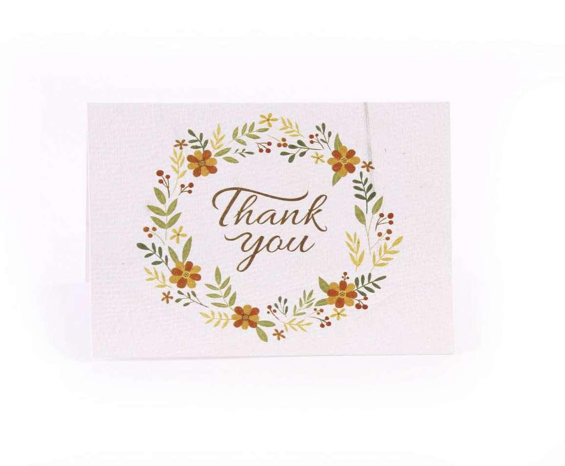 Plantable Thank You Cards Pepaa